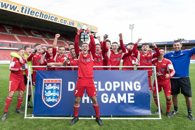 Men's football team are national champions!